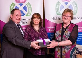 File Award Presentation: Photo credit CalMac