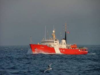 File CCGS Cygnus: Photo credit Canadian Govt.