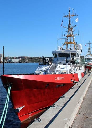 File CCGS G. Peddle S.C.: Photo credit Canadian Coast Guard