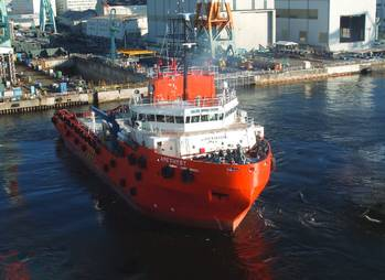 File CH Offshore vessel: Image courtesy of the owners