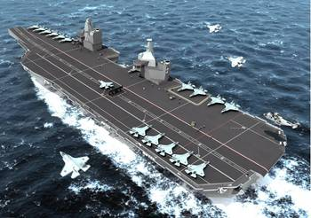 File CVF aircraft carrier for the Royal Navy, a FORAN project