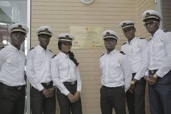 File Cadets at the Maritime Training Center