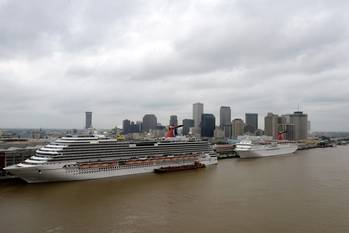 File Image courtesy of Port of New Orleans