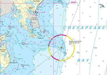 File Nv-Charts has produced new chart regions for Chesapeake Bay (Photo: Nv-Charts).