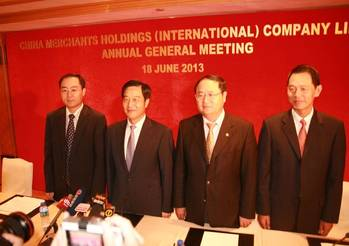 File China Merchants HK AGM: Photo credit the company