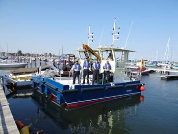 File sister vessels – Flotsam & Jetsam – will work in tandem to collect and remove floating debris.