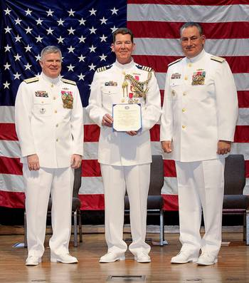 File Capt. Bingaman retirement: USCG photo