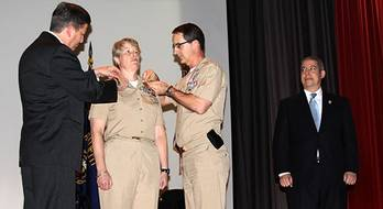 File Commissioning Ceremony: Photo credit US MMA