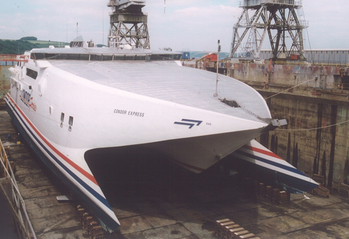 File Condor Express: Photo courtesy of A&P Shipyard