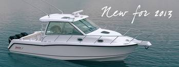 File New 345 Conquest: Photo credit Boston Whaler