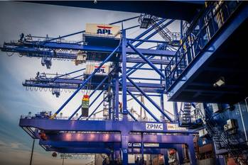 File Image courtesy of APL Logistics