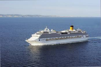 File  new flagship Costa Fascinosa (114,500 gross tonnage and 3,800 total Guests)
