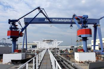 File file photo: Aker Shipyard, Philadelphia