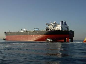 File Crude carrier: Photo courtesy of Alaskan Tanker Co. Alaskan