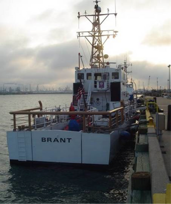 File Cutter Brant: Photo courtesy of USCG