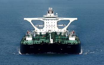 File VLCC Tankship DHT Ann: Photo courtesy of DHT