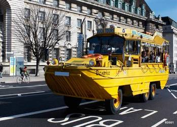 File A Similar DUKW: Photo courtesy of London Duck Tours