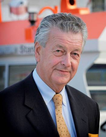 File Mr. Kommer Damen, Chairman of Damen Shipyards Group.