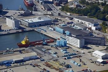 File Danbors supply base in Esbjerg