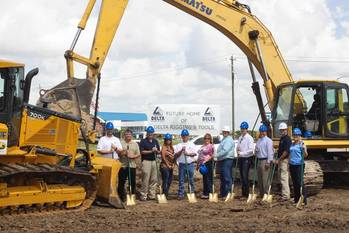 File Ground breaking ceremony: Photo credit Delta