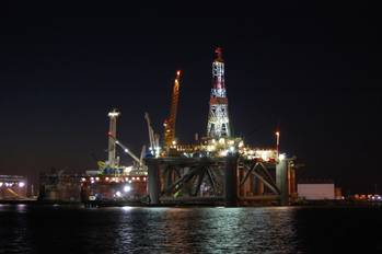 File LED Oil Platform Lighting: Photo credit Dialight