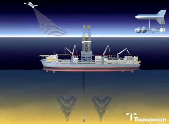 File Discoverer Clear Leader: Rendering courtesy of Transocean