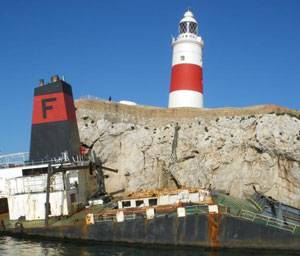 File Donjon Marine was awarded a contract to remove and dispose of the M/V Fedra in Gibraltar, the southern-most tip of the Iberian Peninsula that borders Spain.