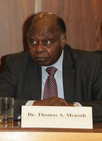 File Dr Thomas A. Mensah: Photo credit IMO