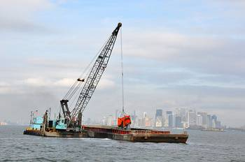 File A dredging operation: File photo CCL