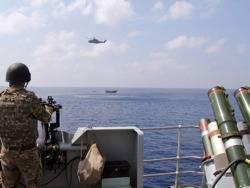 File Warship Drug Arrest: Photo courtesy of UK MOD