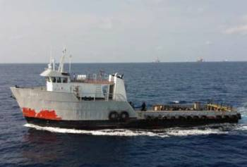 File Dryad Photo: suspected pirate vessel underway.