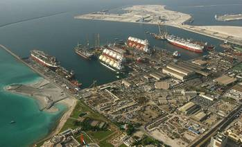 File Drydocks World Dubai Shipyard: Photo credit Drydocks World