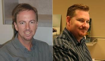 File David Turner (left) and Mike Wood. Courtesy EBDG