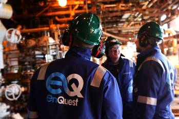 File EnQuest Offshore Workers: Photo credit EnQuest