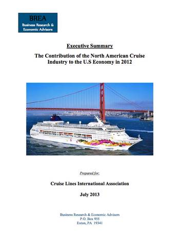 File Cruise Industry Report: Image courtesy of CLIA