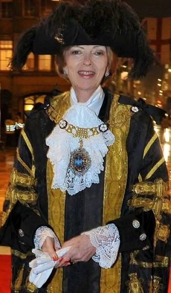 File Lord Mayor Fiona Woolf: Photo courtesy of her website