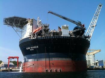 File An Offshore FPSO: File photo courtesy of Sevan