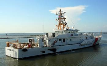 File Bollinger delivered the 10th Fast Response Cutter, Raymond Evans, to the U.S. Coast Guard on June 25, 2014. (Photo courtesy of Bollinger)