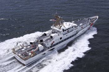 File Sister Ship of the USCG Charles Sexton, Margaret Norvell, operating in the U.S. Gulf of Mexico.