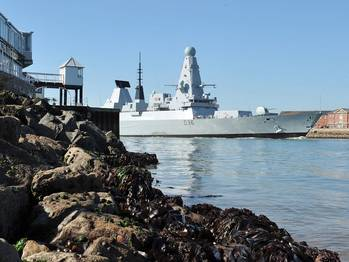File HMS Defender: Photo credit UK MOD