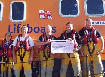 File RNLI hold check for Maritime Rescue Services (Credit Maritime Museum)