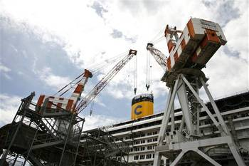 File Fincantieri CNI Yard: Photo courtesy of the shipbuiliders