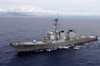 File USS Hopper. U.S. Navy photo by Mass Communication Specialist 2nd Class Jon Dasbach