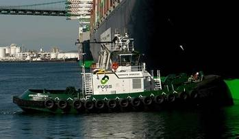 File A Foss Maritime Tugboat: Photo courtesy of Foss Maritime