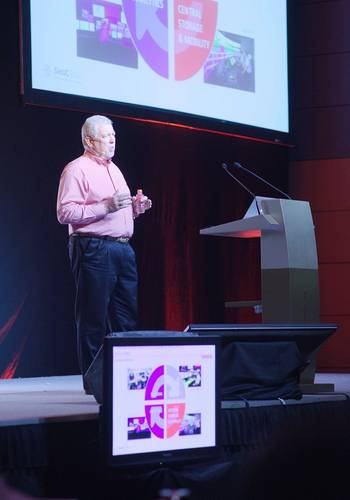 File Transas CEO Frank Coles opened the Transas Simulation User Conference in Singapore.