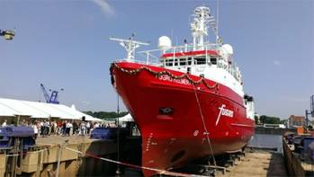 File Fugro Helmert: Photo courtesy of Kongsberg Maritime
