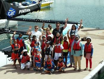 File Oman children aboard GACPindar: Photo GAC