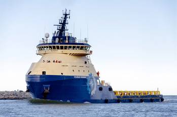 File The next generation of platform supply vessels, pictured here, are equipped with GE Power Conversion