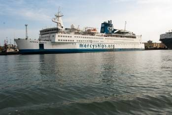 File Africa Mercy (Photo courtesy of Mercy Ships)