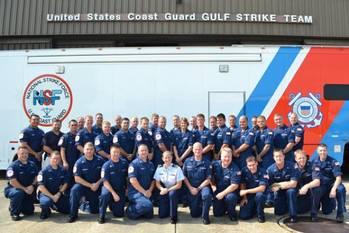 File Coast Guard Gulf Strike Team: Photo credit USCG